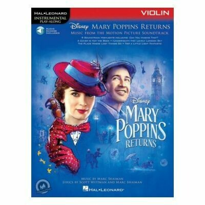 Mary Poppins Returns for Violin (with Audio-Online)