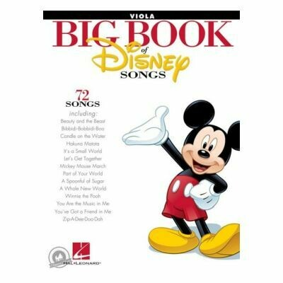 The Big Book of Disney Songs (Viola)