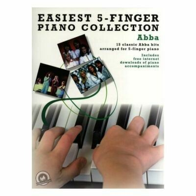Easiest 5-Finger Piano Collection: Abba