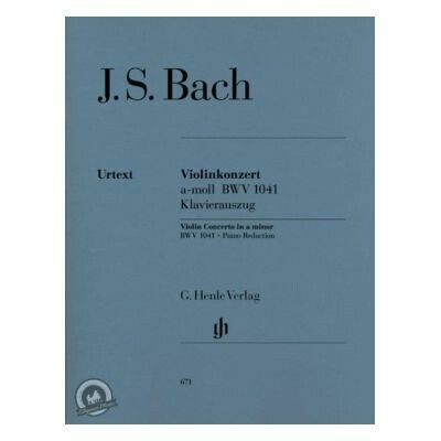 Bach, J S: Concerto for Violin and Orchestra a minor BWV 1041