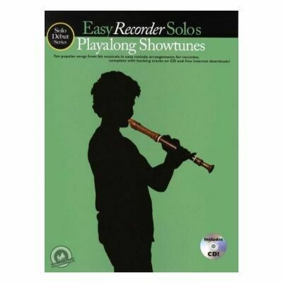 Easy Recorder Solos Playalong (PVG)