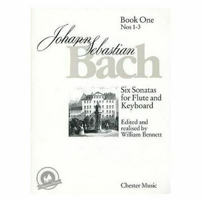 J.S. Bach: Six Sonatas For Flute And Keyboard Book One Nos. 1-3