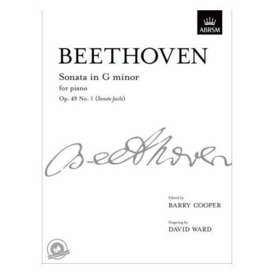 Ludwig Van Beethoven: Sonata In G Minor Op.49 No.1 (Sonata Facile)
