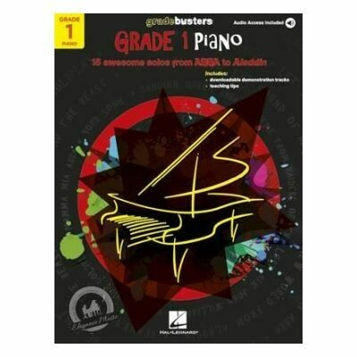 Piano Gradebusters: Grade 1 (Book/Online Audio)