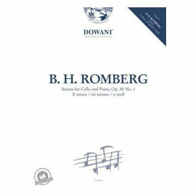 Sonata for Cello and Piano Op. 38 No. 1 in E minor