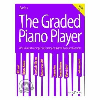 The Graded Piano Player: Grades 1-2