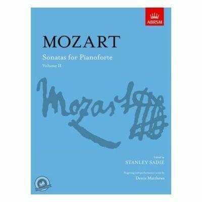 W.A Mozart: Sonatas For Pianoforte Volume 2 (ABRSM)