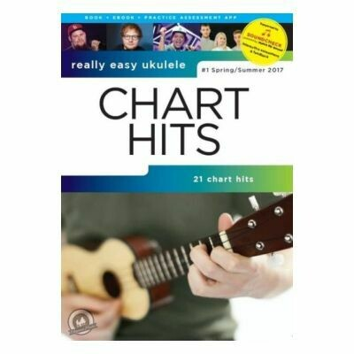 Really Easy Ukulele: Chart Hits - #1 2017 (With Online Audio)