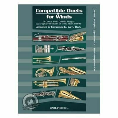 Compatible Duets for Winds (Clarinet, Trumpet, Euphonium)