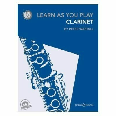 Learn As You Play Clarinet (with CD)