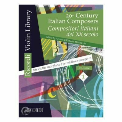 20th Century Italian Composers: Anthology 1 for Violin
