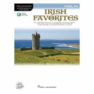 Irish Favorites - Violin (with CD)