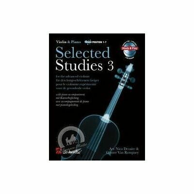 Selected Studies 3 for Violin (with 2CD)