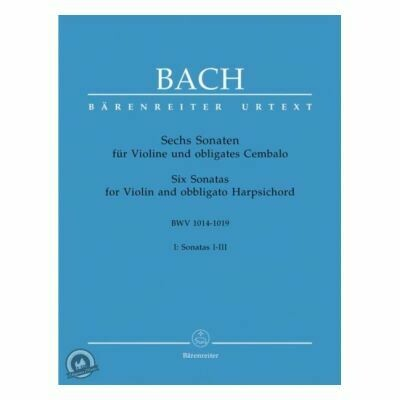 Sonaten(6) 1 BWV1014 1015 1016 for Violin