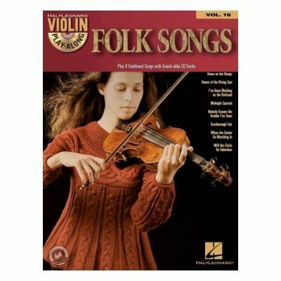 Violin Play-Along Volume 16: Folk Songs (with CD)