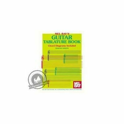 Guitar Tablature Book & Chord