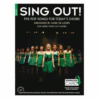Sing Out! 5 Pop Songs For Today's Choirs - Book 1