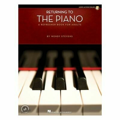 Returning To The Piano - A Refresher Book For Adults (Book/Online Audio)