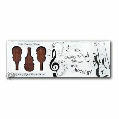 Belgian Milk Chocolate Box Of Violins - 8