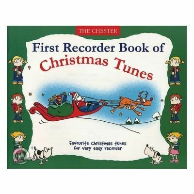 First Recorder Book Of Christmas