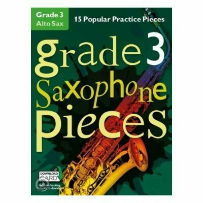 Grade 3 Alto Saxophone Pieces (with Online Audio)