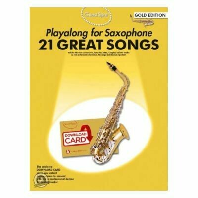 Guest Spot - Playalong 21 Great Songs Gold Edition For Alto Saxo