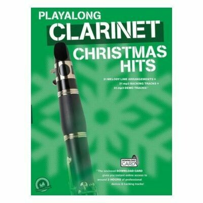 Playalong Clarinet Christmas Hits (with Online Audio)