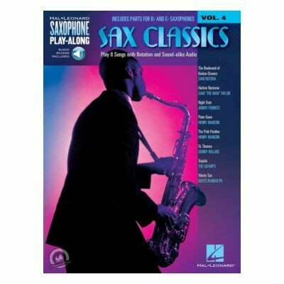 Saxophone Play-Along Volume 4: Sax Classics (Book/Online Audio)