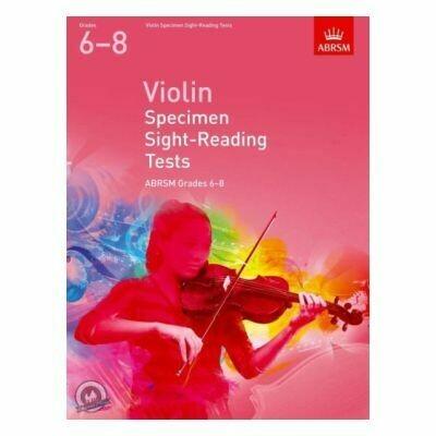 Violin Specimen Sight-Reading Tests,Grades 6-8 (from 2012)