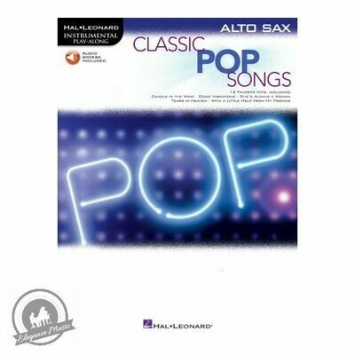Classic Pop Songs - Alto Saxophone (with Online Audio)