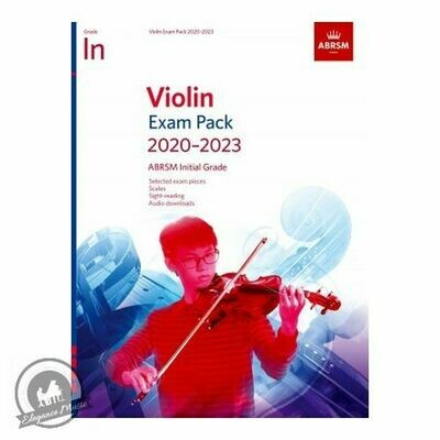 ABRSM Violin Exam Pieces 2020-2023 Initial Grade (Book with Online Audio)