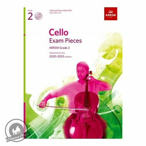 ABRSM Cello Exam Pieces 2020-2023 Grade 2 (Book with CD)