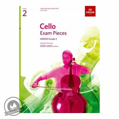 ABRSM Cello Exam Pieces 2020-2023 Grade 2 (Book with Part)