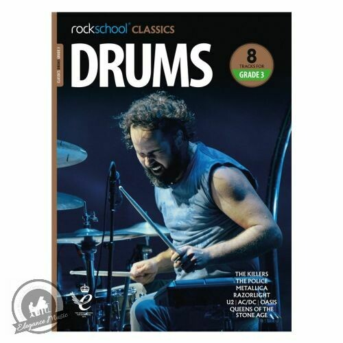 Rockschool Classics Drums Grade 3 (2018+)