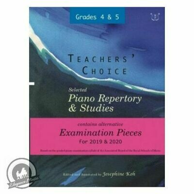 Teachers' Choice 2019 and 2020 Grades 4 To 5