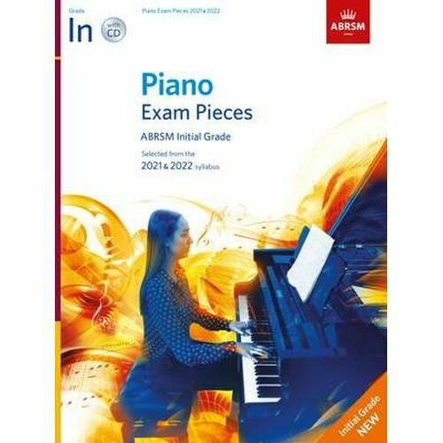 ABRSM Piano Exam Pieces 2021 and 2022 - Initial (Book with CD)