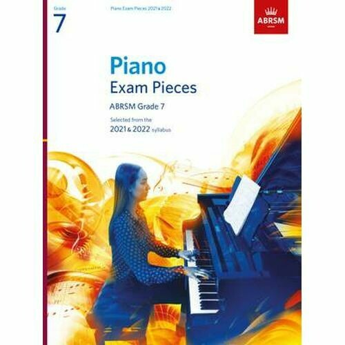 ABRSM Piano Exam Pieces 2021 and 2022 - Grade 7 (Book Only)