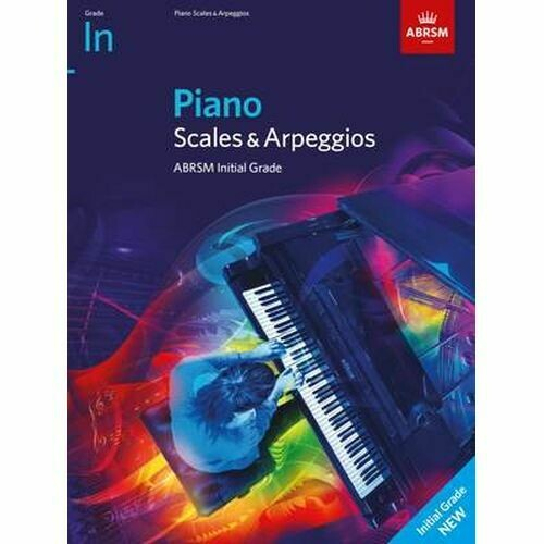 ABRSM Piano Scales & Arpeggios, Initial (from 2021)