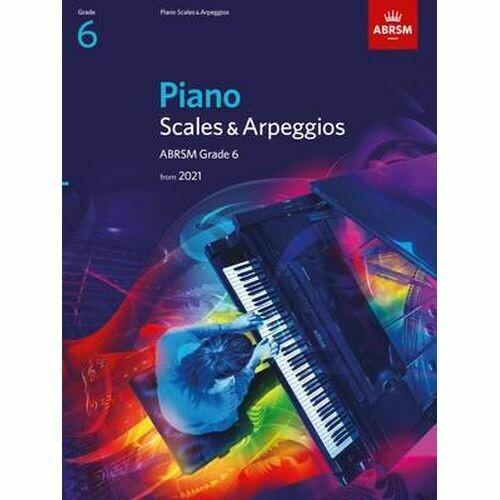 ABRSM Piano Scales & Arpeggios, Grade 6 (from 2021)