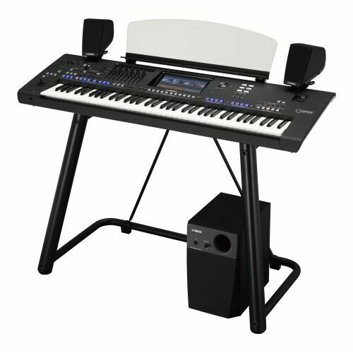 Yamaha Genos Workstation Essential Pack Including Official Stand & Speakers