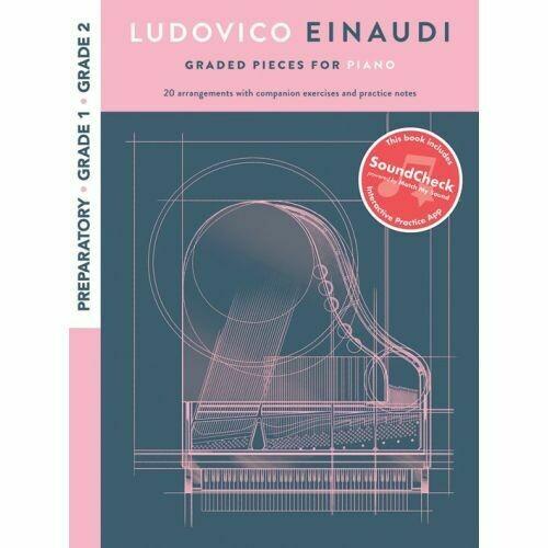 Ludovico Einaudi: Graded Pieces For Piano - Preparatory To Grade 2