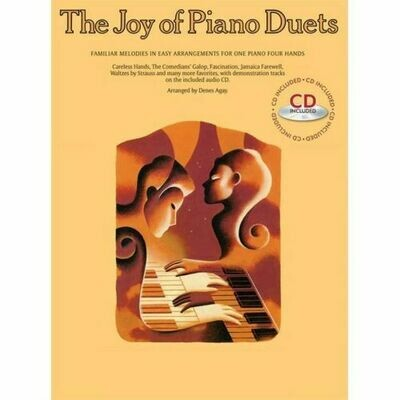 The Joy of Piano Duets (with CD)