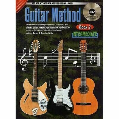 Progressive Guitar Method Bk 2 Intermediate Bk &CD