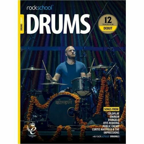 Rockschool Drums Debut 2018+ (Book/Audio)