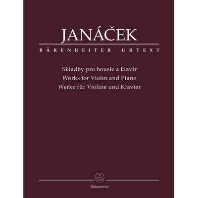 Janácek, Leos: Works for Violin and Piano