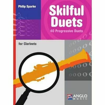 Sparke: Skilful Duets - 40 Progressive Duets for Clarinets