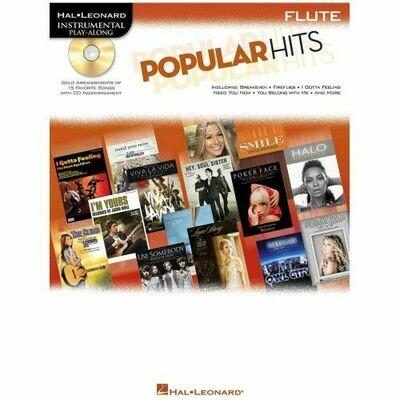Popular Hits - Flute - Instrumental Play-Along