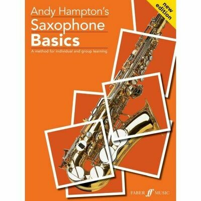Saxophone Basics (Book Only)