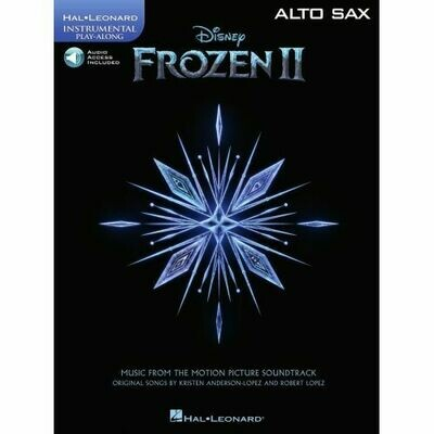 Frozen II - Instrumental Play-Along Alto Sax