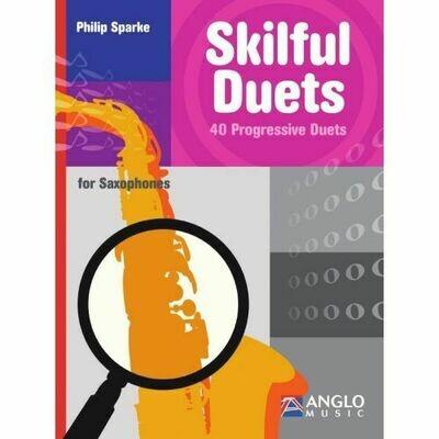 Sparke: Skilful Duets - 40 Progressive Duets for Saxophones